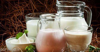 خوردن شیر و ماست و نکات تغذیه ای مهم