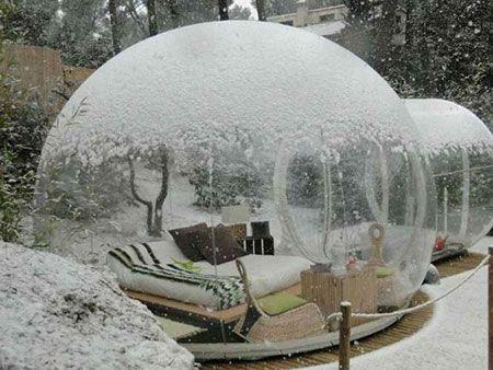 هتل شیشه ای در فرانسه را ببینید +عکس