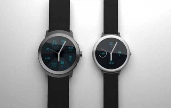 تصویر ساعت های هوشمند جدید گوگل لو رفت