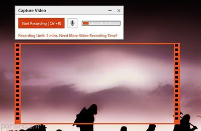 فیلم برداری و گرفتن اسکرین شات از ویندوز