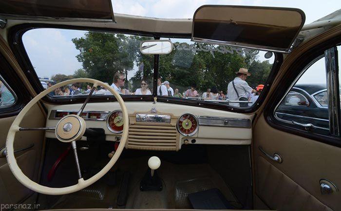 عکس های رژه ماشین های کلاسیک و قدیمی در روسیه