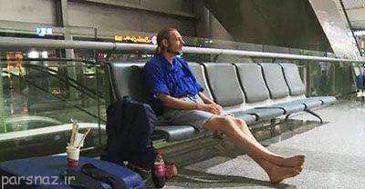 مردی که منتظر معشوقه اش ماند و به این شکل درآمد