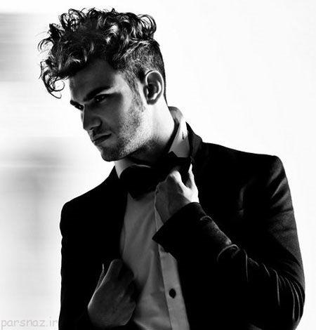 مدل موی فر مردانه خاص و زیبا