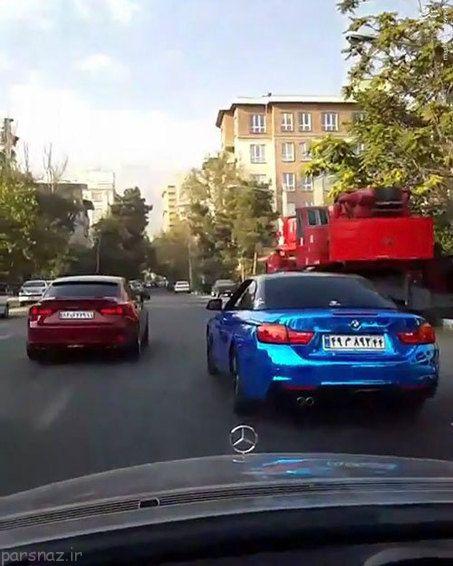 تصاویر بی ام و منحصر به فرد در تهران را ببینید