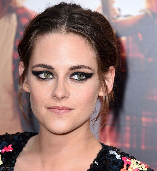 مدل آرایش سبک گوگوش قدیمی مدل های آرایش جذاب به سبک Kristen Stewart