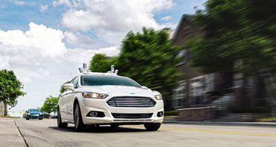 ماشین های راننده خودکار شرکت فورد