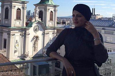 تصاویر هلیا امامی در حال خوش گذرانی در وین