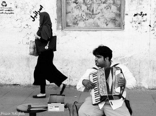 تصاویری از زندگی روزمره مردم ایران در قاب تصویر
