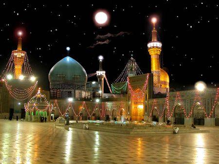 تصاویر حرم امام رضا در مشهد