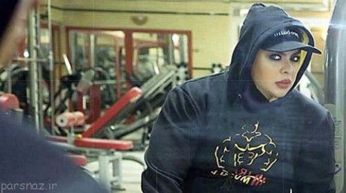 زن شماره یک پرورش اندام ایران را بشناسید