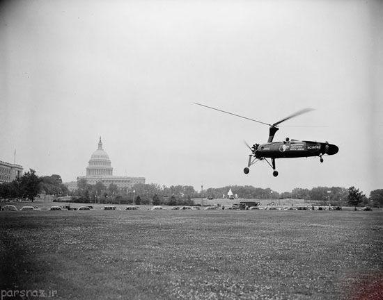 هلیکوپتر چگونه اختراع شد؟ +عکس
