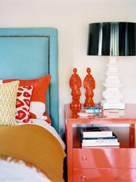 دکوراسیون منزل و استفاده از رنگ های جیغ