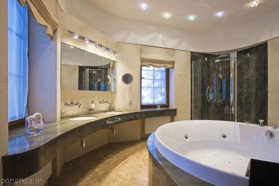 دکوراسیون طراحی حمام های لوکس و زیبا