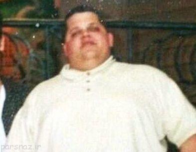 مردی با 178 کیلو وزن معجزه کرد +عکس