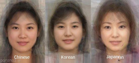 طرز تشخیص چینی ها و کره و ژاپنی ها از هم