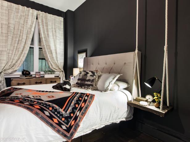 ترکیب های جالب رنگ برای اتاق خواب شما