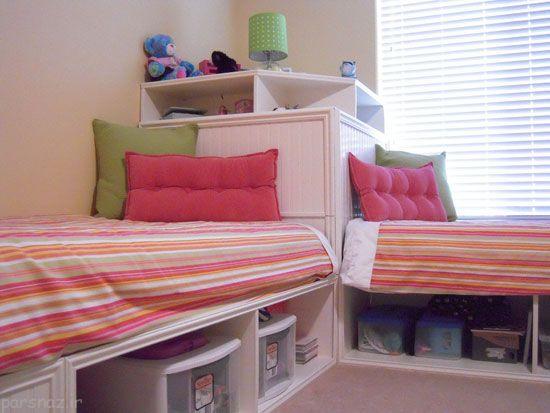 دکوراسیون اتاق خواب برای دو فرزند