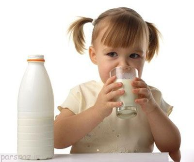 لزوم خوردن شیر برای کودکان