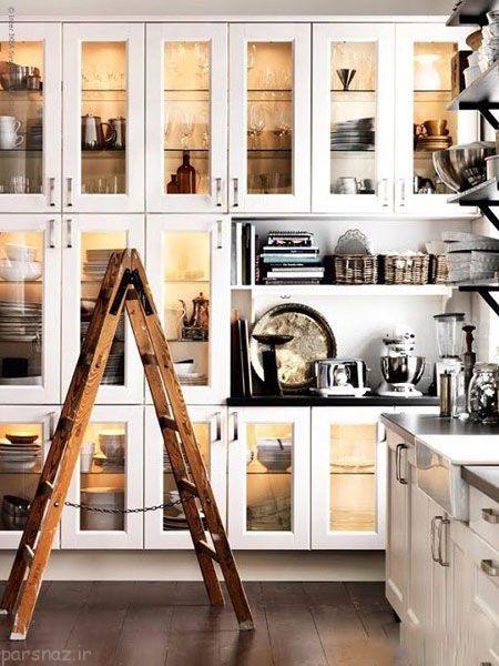 مدل کابینت های کلاسیک برای منازل شما