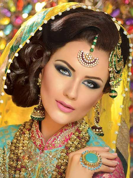 جدیدترین مدل های زیبا و جذاب آرایش هندی