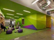 طراحی جالب فضای داخل مدارس در شیکاگو