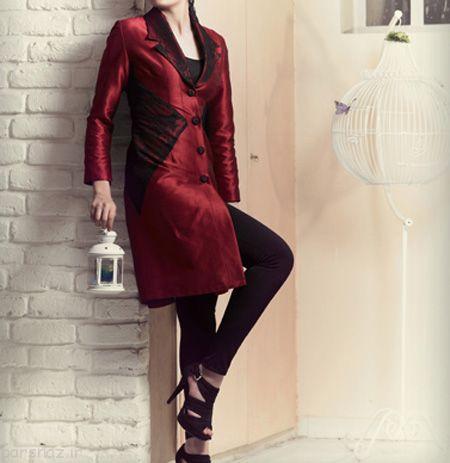 بهترین و زیباترین مدل های مانتو ساتن