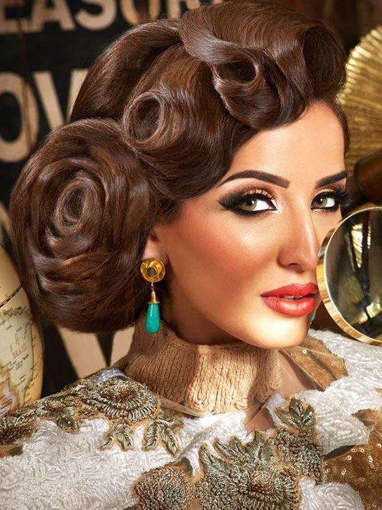عکسهای مدل آرایش دختران هندی جذاب و زیبا