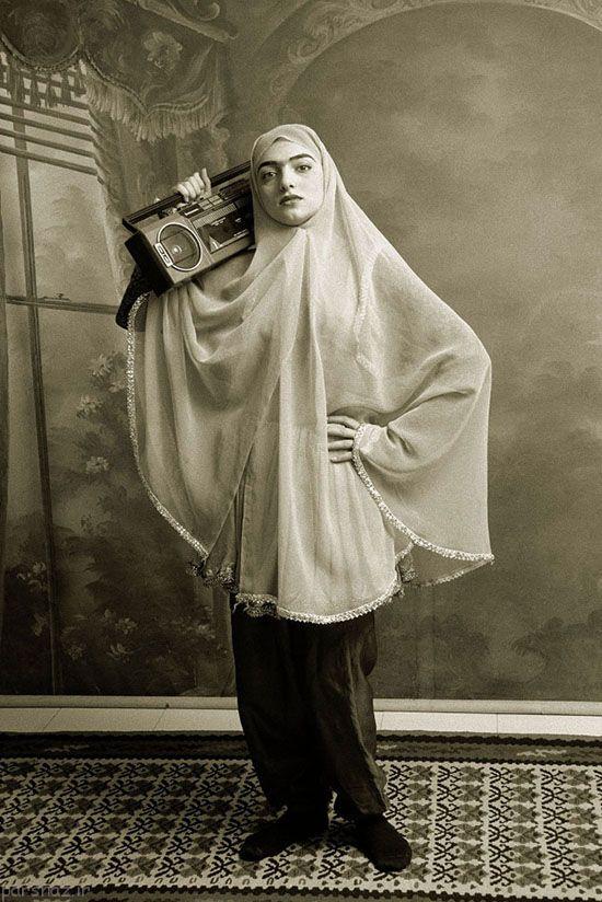 عکس های دختران خوش تیپ ایرانی 100 سال پیش