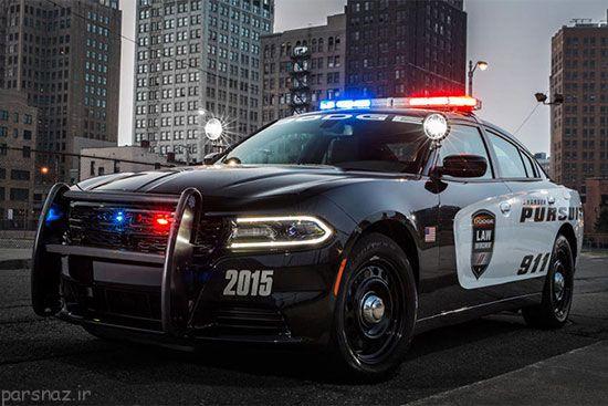 ماشین های پلیس و رازهای جالب +عکس