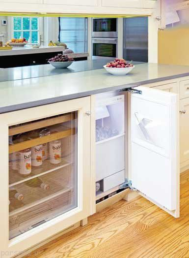 آشپزخانه و چیدمان امکانات بی نظیر