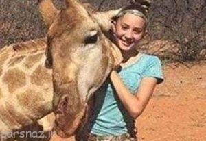 عکس های دختر 12 ساله با حیوانات جنجال به پا کرد