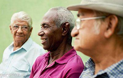 بالا رفتن سن و خوشحال تر شدن انسان