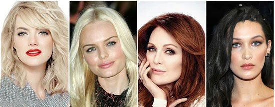انتخاب رنگ موی متناسب با صورت