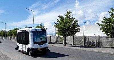 اتوبوس های بدون راننده در فنلاند
