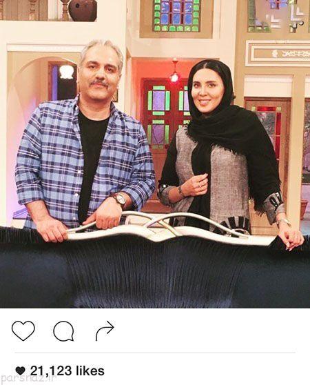 شبکه های اجتماعی و بازیگران و چهره های مشهور ایرانی