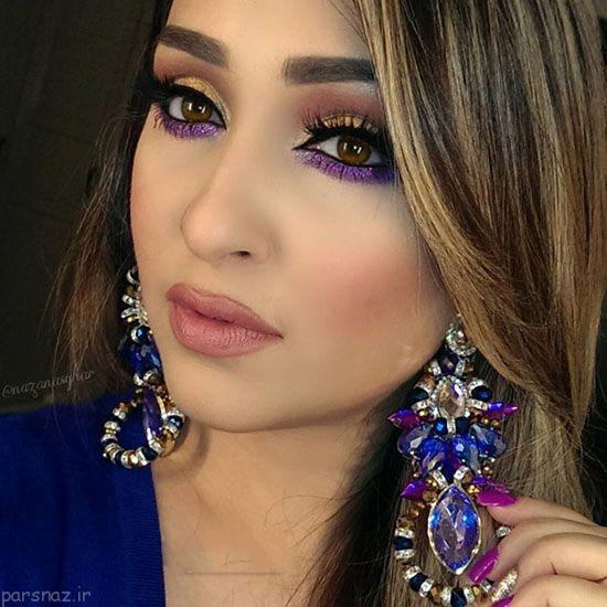 مدل آرایش عربی جدید و جذاب از Nazan Asghar