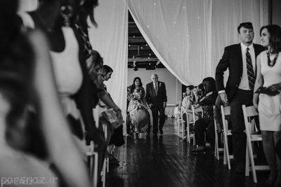 دختر فلج که در روز عروسی راه رفت +عکس