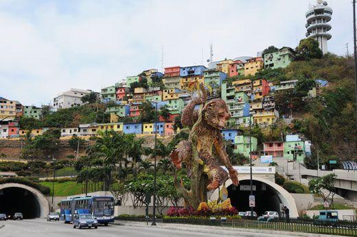 شهر بندری زیبای گوایاکیول در اکوادور
