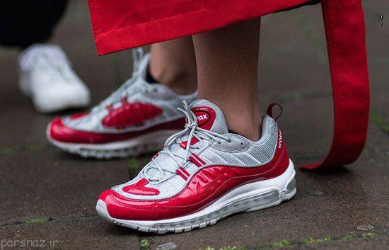 زیباترین مدل کفش های کتانی 2017