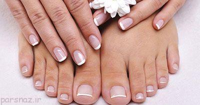 مراقبت از ناخن های پا و زیبایی