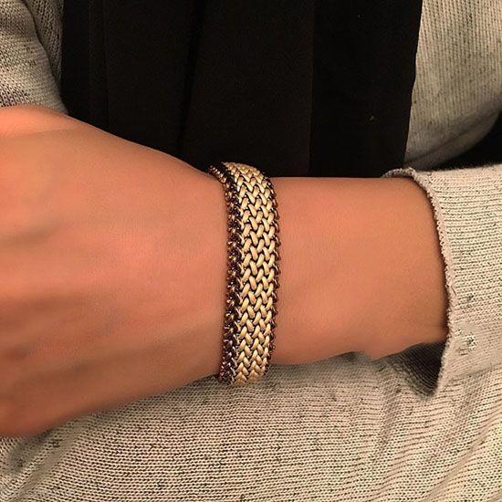 مدل طلا و جواهرات از برند ایرانی گلستان