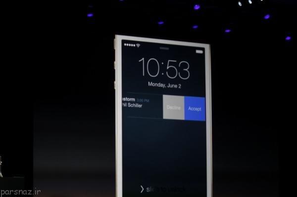 ترفند ios در لاک اسکرین به پیام ها پاسخ دهید