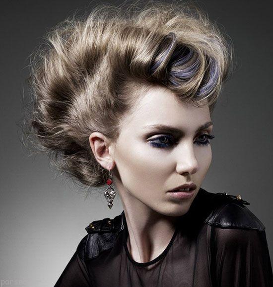 مدل موهای زنانه جدید و به روز برای مراسم ها