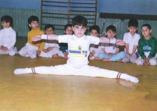 تصویر جالب بهداد سلیمی در 4 سالگی