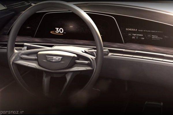 خودروی جدید کادیلاک به نمایشگر OLED مجهز است