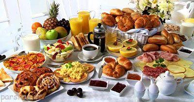 صبحانه رژیمی برای کوچک کردن شکم