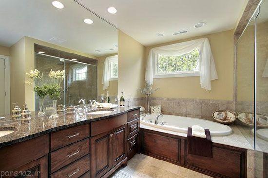 دکوراسیون حمام های لوکس و زیبا