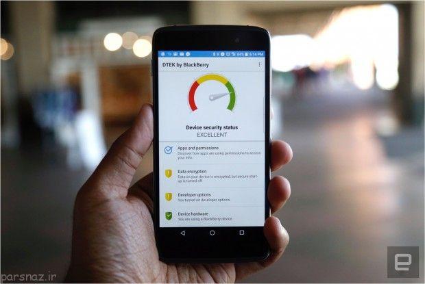 بررسی کامل گوشی ارزان قیمت بلک بری DTEK50