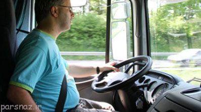 رانندگان خودروی سنگین و سلامت قلب