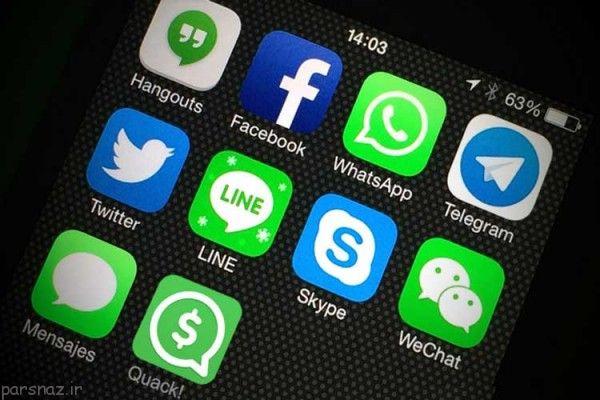 کاربران بیشتر وقتشان را صرف این 5 اپلیکیشن می کنند